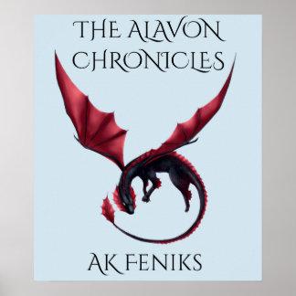 Alavon Drache Ouroboros Plakat
