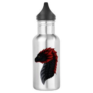 Alavon Drache-Profil 18 Unze-Wasser-Flasche Edelstahlflasche