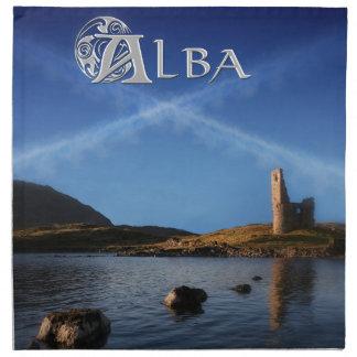 Alba, Schottland, Caledonia Stoffserviette