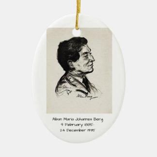 Alban Maria Johannes Berg Keramik Ornament
