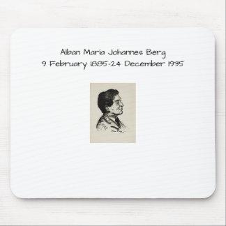 Alban Maria Johannes Berg Mousepad
