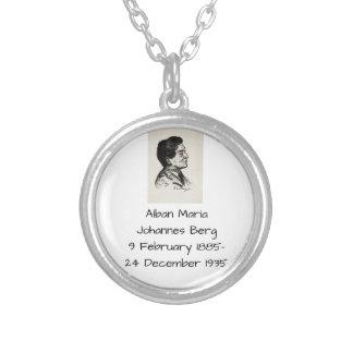Alban Maria Johannes Berg Versilberte Kette