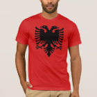 Albaner-Eagle-Graupixel T-Shirt