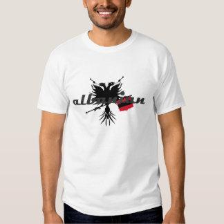 Albaner mit Eagle und Flagge Shirts
