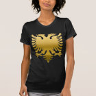 Albanian Gold Eagle 3D T-Shirt