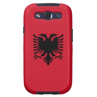 Albanien - albanische Flagge Hülle Fürs Galaxy S3