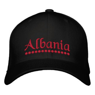Albanien Bestickte Kappen