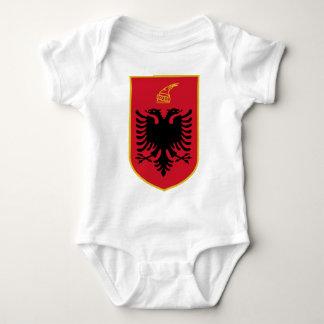 Albanien-Emblem Babybody