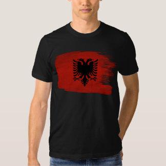 Albanien-Flagge Hemden