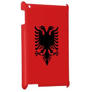 Albanien-Flagge iPad Hülle