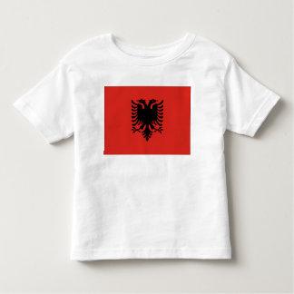 Albanien-Flagge Kleinkinder T-shirt