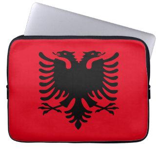 Albanien, Flagge Laptopschutzhülle