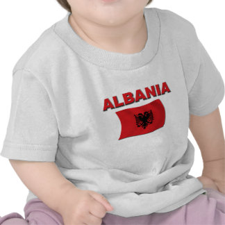 Albanien-Flagge T-Shirts