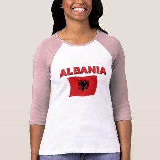 Albanien-Flagge T Shirt
