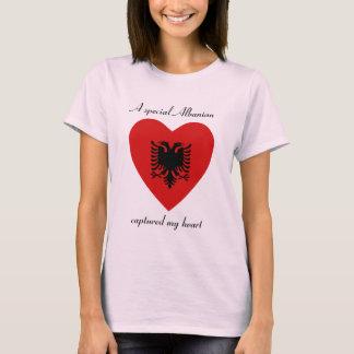 Albanien-Flaggen-Schatz-T - Shirt