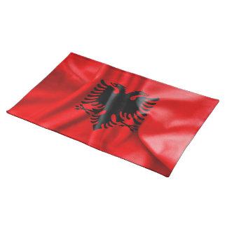 Albanien-Flaggen-Tabellen-Platz-Matte Tischset