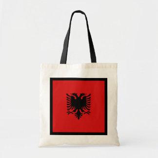 Albanien-Flaggen-Tasche Tragetasche