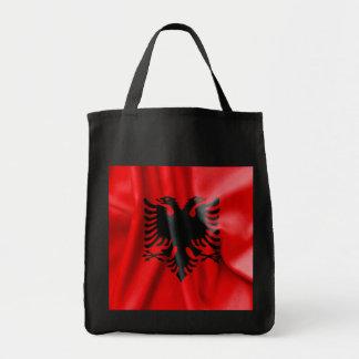 Albanien-Flaggen-Taschen-Tasche Tragetasche