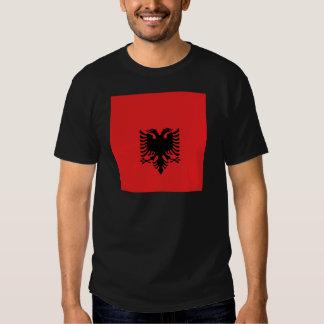 Albanien ganz über Entwurf T-Shirt