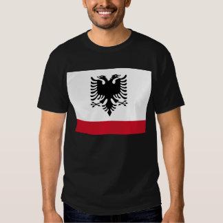 Albanienmarinefahne T-Shirts