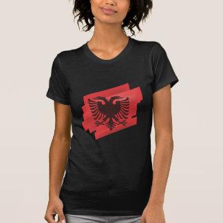 Albanische Adlerflagge Tshirts