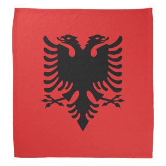 Albanische Flagge Bandanas Kopftücher