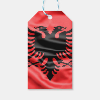 Albanische Flagge Geschenkanhänger