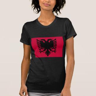 Albanische Flagge Hemd