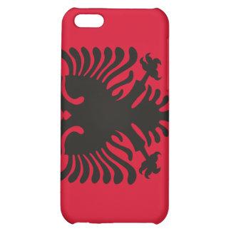 Albanische Flagge iPhone 5C Cover