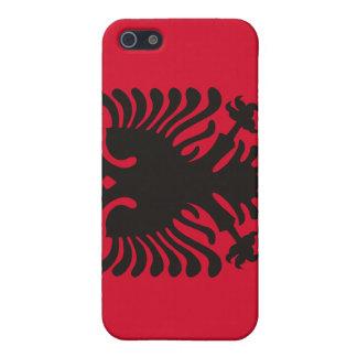Albanische Flagge iPhone 5 Case