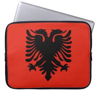 Albanische Flagge Laptop Computer Schutzhülle