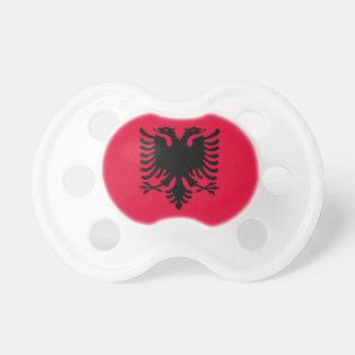 Albanische Flagge Schnuller