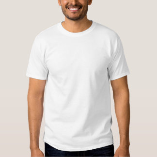 Albanische Flagge schön gemasert T-Shirt