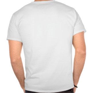 Albanische Flagge schön gemasert T Shirt