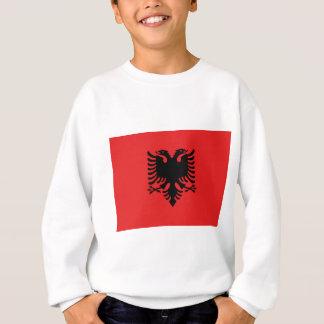 Albanische Flagge Sweatshirt