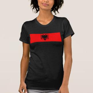 albanische Flagge T-Shirts
