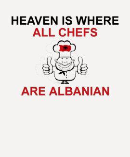ALBANISCHE KÖCHE SHIRTS