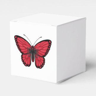 Albanische Schmetterlings-Flagge Geschenkkartons