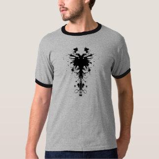 Albanischer Adler-Designer-T - Shirt