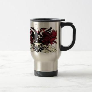 albanischer Adler Reisebecher