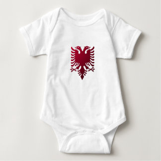 Albanischer zwei-köpfiger Adler Babybody