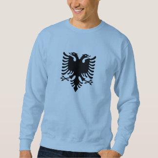 Albanischer zwei-köpfiger Adler Sweatshirt