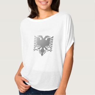 Albanischer zwei-köpfiger Adler T Shirt