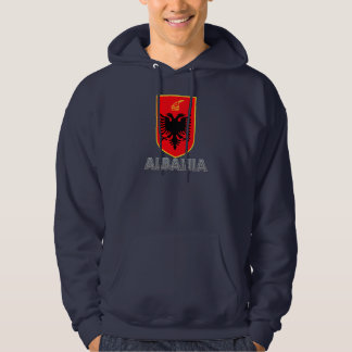 Albanisches Emblem Hoodie