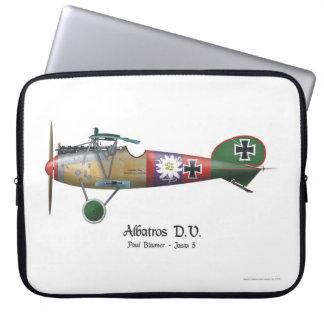 Albatros D.V. ww1 deutsches Kämpfer-Flugzeug Laptopschutzhülle