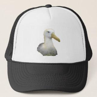 Albatros mit würdevollem Kopf Truckerkappe