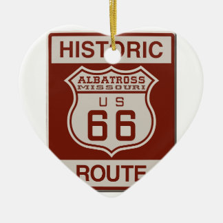 Albatros-Weg sechsundsechzig Keramik Ornament