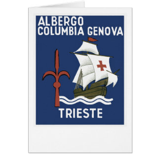 Albergo Kolumbien Genua ~ Triest Karte