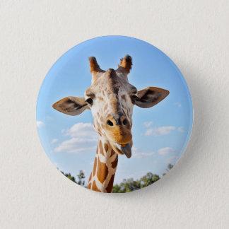 Alberne Giraffe Runder Button 5,1 Cm