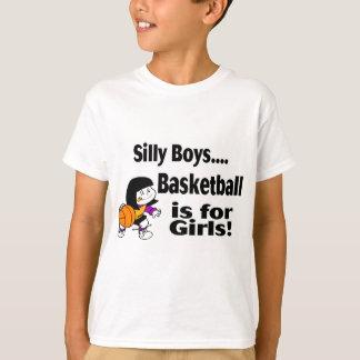 Alberne Jungen, Basketball ist für Mädchen T-Shirt